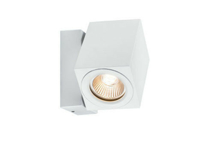 Applique de façade Cube Flame 360° LED IP44 1x7W - Gedimat.fr