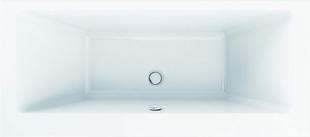 Baignoire rectangulaire en acrylique STRADA larg.80cm long.180cm - Gedimat.fr