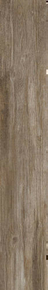 Carrelage pour sol en grès cérame émaillé rectifié DAVINCI larg.20cm long.120cm coloris brun - Gedimat.fr