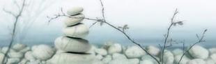 Décor SERENITY pour mur en faïence PRIVILEGE larg.29cm long.100cm pièce A - Gedimat.fr