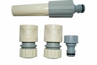 Kit complet d'arrosage plastique pour tuyau diam.15mm - Gedimat.fr