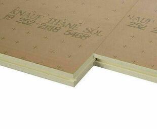 Doublage polystyrène extrudé  KTHANE SOL RB4 - 1,2x1m Ep.24mm - R=1,05m².K/W - Gedimat.fr