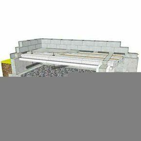 Doublage polystyrène expansé hydrofuge POLYPLAC A KHD 13+140 - 3x1,20m - R=4,75m².K/W - Gedimat.fr