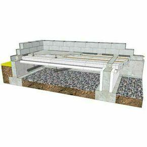 Doublage polystyrène expansé hydrofuge POLYPLAC A KH snowboard 13+140 - 2,60x1,20m - R=4,75m².K/W - Gedimat.fr