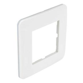 Plaque de finition simple CASUAL coloris blanc brillant - Gedimat.fr