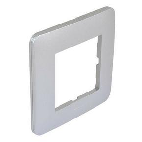 Plaque simple silver mat CASUAL - Gedimat.fr