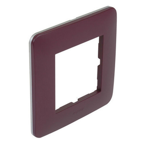 Plaque de finition simple CASUAL coloris prune mat - Gedimat.fr