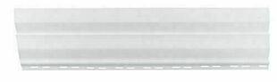 Bardage Vinyl Ep.14 mm larg.205 mm utile (240 mm hors tout) Longueur utile 2,86 m utile (2,90 m hors tout) Blanc - Gedimat.fr