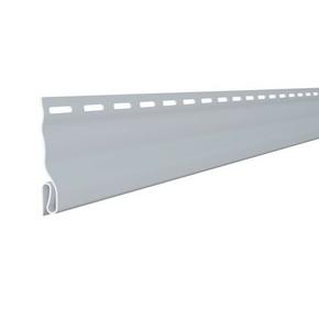 Moulure de départ pour bardage vinyl ép.10mm larg.70mm long.2,90m Blanc - Gedimat.fr