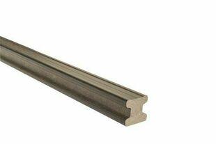 Lambourde Composite section 50x50mm Long.4,00m Coloris gris anthracite - Gedimat.fr