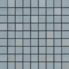 Décor MOSAICO pour mur en faïence PRIVILEGE, trame de 31,6x31,6cm coloris grey - Gedimat.fr