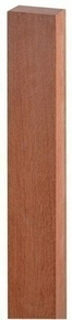 Lambourde bois exotique rouge Long.2,75m larg.70mm Ép.42mm Classe 4 - Gedimat.fr