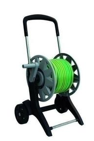 D�vidoir sur roues �quip� du tuyau de 25m - GEDIMAT - Mat�riaux de construction - Bricolage - D�coration