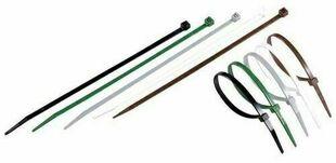 Collier de serrage recoupable long.20 cm gris - Gedimat.fr