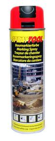 Bombe traceur de chantier 500 ml fluo rouge - Gedimat.fr