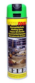 Bombe traceur de chantier 500ml fluo vert - Gedimat.fr