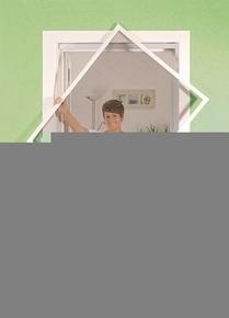 Cadre moustiquaire Aluminium pour fenêtre haut.1,50m larg.1,30m laqué blanc - Gedimat.fr