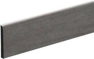 Plinthe carrelage pour sol KOSHI larg.9,5cm long.45cm coloris gris foncé - Gedimat.fr
