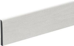 Plinthe carrelage pour sol KOSHI larg.9,5cm long.45cm coloris gris clair - Gedimat.fr