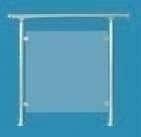 Verre acrylique polycarbonate A24 pour garde-corps RONDO ép.6mm - Gedimat.fr