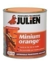Primaire antirouille minimum orange bidon de 0,25 litre - Gedimat.fr