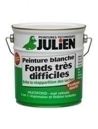 Peinture pour fonds très difficiles MULTIFOND blanc mat en bidon de 2,50 litres - Gedimat.fr