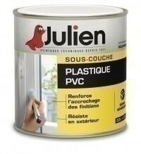 Sous couche plastique PVC J2 JULIEN bidon de 2,50 litres - Gedimat.fr