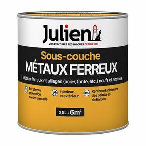 Sous-couche métaux ferreux J5 JULIEN bidon de 0,50 litre - Gedimat.fr