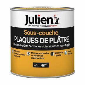 Sous couche plaque de plâtre J6 JULIEN bidon de 10 litres + 20% gratuit - Gedimat.fr