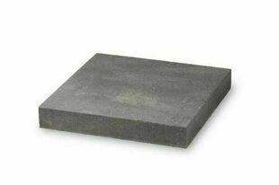 Chapeau de pilier dim.40x40cm ép.6cm ton marbré gris - Gedimat.fr