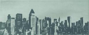 Décor satiné LAQUE SKYLINE NY, 20x50 cm, épaisseur 8 mm, pearl - Gedimat.fr
