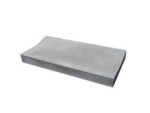 Caniveau en pierre reconstituée INSTONE droit dim.60x30cm ép.5cm graphite - Gedimat.fr