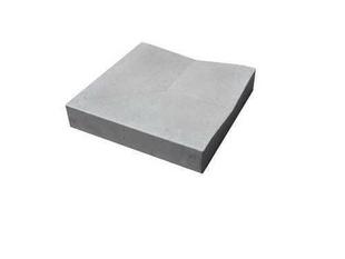 Caniveau en pierre reconstituée INSTONE angle dim.30x30cm ép.5cm graphite - Gedimat.fr