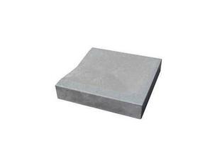 Caniveau en pierre reconstituée INSTONE d'about dim.30x30cm ép.5cm graphite - Gedimat.fr