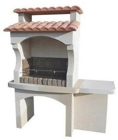 Barbecue quercy en pierre reconstitu e - Modele barbecue en pierre ...