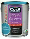 Laque glycéro PE DECO satin gris ardoise  - pot 2,5l - Gedimat.fr
