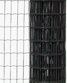 Grillage plastifié ASTROPLAX maille de 100x75mm haut.1,20m long.20m gris RAL 7016 - Gedimat.fr