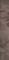 Listel carrelage pour sol en grès cérame émaillé CAPADOCE larg.8cm long.60cm coloris moka - Gedimat.fr