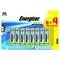 PILE AA LR6 1.5V ALCALINE ECO ADVANCED ENERGIZER B8+4 - Gedimat.fr