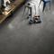 Carrelage pour sol intérieur en grès cérame décoré coloré dans la masse DOCKS dim.45x45cm coloris skate - Gedimat.fr