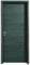 Bloc-porte FUJI haut.2,04m larg.73cm gauche poussant revêtu mélaminé finition gris basalte - Gedimat.fr