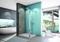 Kit de fixation pour paroi LINEA haut.200cm verre transparent - Gedimat.fr