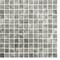 Emaux de verre de 2,5x2,5cm antidérapant ECOSTONE sur trame de 31,1x31,1cm coloris silver - Gedimat.fr