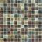Emaux de verre de 2,5x2,5cm antidérapant WOODLAND sur trame de 31,1x31,1cm coloris oak - Gedimat.fr