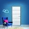 Bloc-porte ESCALE isolante huisserie 88mm haut.2,04m larg.83cm poussant droit - Gedimat.fr