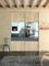 Vantail coulissant chêne sauvage/miroir argent larg.780mm haut,2,50m profil gris - Gedimat.fr