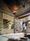 Vantail coulissant chêne vintage/miroir argent larg.780mm haut,2,50m profil gris - Gedimat.fr