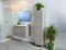 Colonne suspendue 2 portes haut.160cm larg.35cm long.35cm KARMA Vison - Gedimat.fr