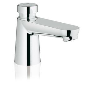 Mitigeur lavabo temporisé Euroeco Cosmopolitan GROHE chromé - Gedimat.fr