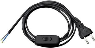 Câble électrique méplat H03VHH2F diam.2x0,75mm² coloris noir vendu au bobinot de 1,5m - Gedimat.fr